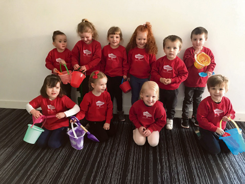 A PRESCHOOL is asking the community to support its fundraising campaign for new outdoor equipment.