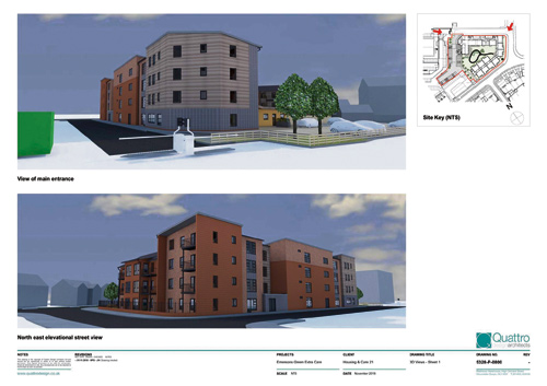 A PLANNING application for a new extra care housing facility in Lyde Green has been approved by South Gloucestershire Council.