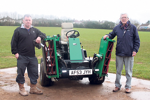 Grant for Blackhorse tractor