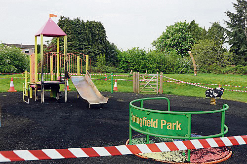 Park out of action for summer holidays