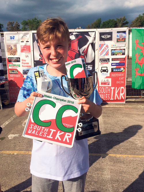 Racing ace Jake wins championship