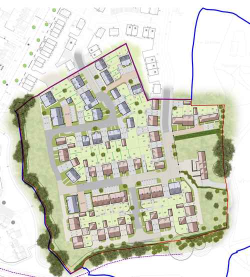88 new homes planned for Lyde Green