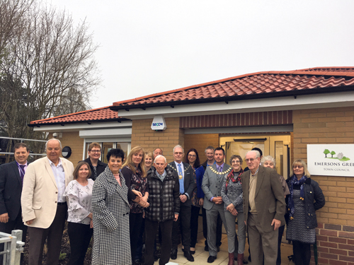 New Emersons Green town hall opens