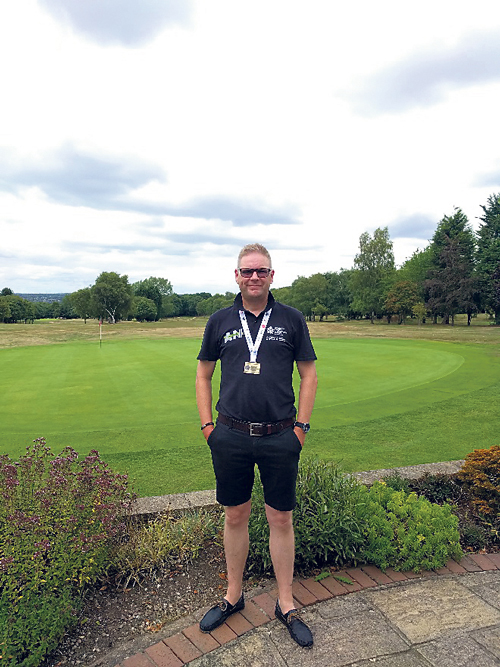 Nathan wins golfing gold after lifesaving transplant